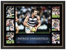 Patrick Danderfield Geelong Cats Super Frame AFL Print Official Frame - DANGER
