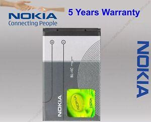 100% Nokia BL-4C Battery 890mAh for Nokia 7610 6260 2650 5100 6100 6300 UK