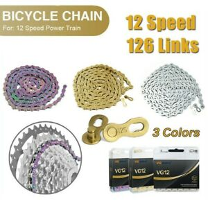 12 Speed Bicycle Chain Bicycle Chain For-SRAM PC NX Eagle Chain Mountain Use