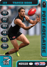 2018 TEAMCOACH PORT ADELIADE TRAVIS BOAK # 122 COMMON CARD AFL free post