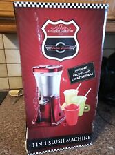 Gourmet Gadgetry Retro Diner 3-in-1 Drinks Maker,, Red-NEVER USED