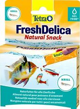 Tetra Freshdelica Krill, 48 G, Tasty Diversity for All Zierfische. Be