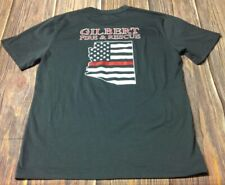 Gilbert AZ Fire & Rescue Men's Charcoal Large Tshirt Pre-owned