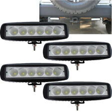4x 7INCH 72W CREE LED WORK LIGHT BAR FLOOD OFFROAD ATV FOG TRUCK LAMP 4WD 12V 6""