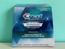 CREST 3D 1 HOUR EXPRESS NO-SLIP Whitestrips 4 treatments ( 8 Strips)