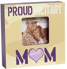 New ENESCO HOMEFRONT GIRL Proud Military Mom 1x4x4 Picture Frame Holds 2.5 x 2.5
