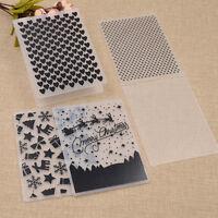 Plastic Embossing Folder Scrapbook Decoration Papercraft Making Tool Christmas