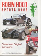 Robin Hood car & kit car range (made in GB) _2007 Prospekt / Brochure