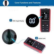 100m/328ft Digital Laser Distance Meter Range Finder Measure Diastimeter