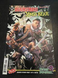 Deathstroke/Yogi Bear#1 Incredible Condition 9.4(2018) Kirkham Covee