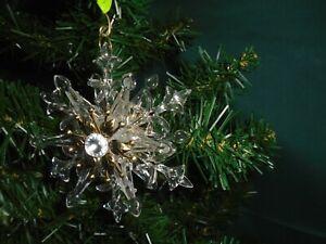 Edelrost Christbaumschmuck Schneeflocke 6 Weihnachtsdeko Weihnachtsbaumschmuck