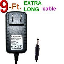 9-Ft Ac power adapter for Samsung SmartCam Snh E6413Bn wireless Security Camera