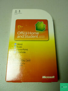 Microsoft Office 2010 Home and Student Product Key Card (PKC)
