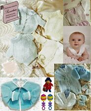 Baby easy knitting pattern booklet all patterns start at premature + tiny baby