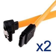 2x Cable donnée SATA 40cm Data cable SATA I,II,III SERIAL ATA 1,2,3 compatible