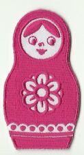 ECUSSON PATCHE  THERMOCOLLANT PATCH GIRL POUPEE RUSSE DIM. 7,5 X 4,1 CM