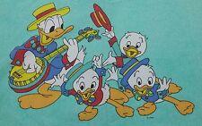 Disney ropa de cama Bedding bedlinen Donald Duck vintage 70s 80s Fabric