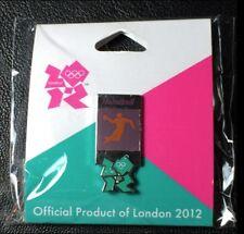 London 2012 Olympic Lapel Pin Badge~Pictogram~Handball~Gamesmark Logo~NEW!!!