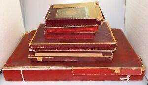 (04111) leere Originalkartons für Bleifiguren, Heyde, Gebr. Heinrich