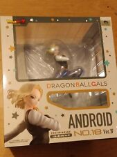 DRAGON BALL Z GALS ANDROID NO #18 VER. IV COMPLETE FIGURE - NEW AND SEALED