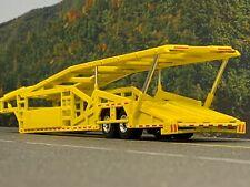 1/64 SPECCAST YELLOW 5 CAR MILLER CAR CARRIER TRANSPORT TRAILER