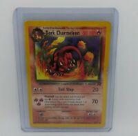 Dark Charmeleon 32/82 Gold Wizards W Stamp Promo Team Rocket Pokemon