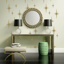 Mid Century Wall Decals, Atomic Star Wall Decal, Retro Starburst Wall Decals