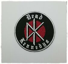 Dead Kennedys Patch Sew Embroidered Iron on Free Shipping Band Punk Rock Music