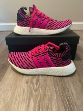 NIB Adidas NMD R2 limited JAPAN PACK primeknit PINK-BLACK boost BY9697 size 8.5