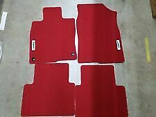 Honda Oem New Red HFP Carpet Mats 16-21 Civic 4 dr 5 dr 08P15-TGG-110A