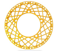 Lightweight 56T Chainring + Chainguard For BROMPTON Gold 146g