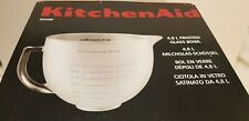 KitchenAid 4.8litre Frosted Glass Mixing Bowl 5K5GBF Brand NEW kitchen accessory