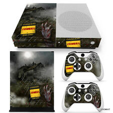Xbox One S Console Skin Decal Sticker Resident Evil Zombie Custom Design Set