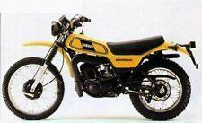 DT400 DT400MX 1978 YELLOW BIKE VERSION DECAL KIT