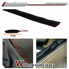 Car Front Rear Window Guide Rubber Seal Strip SUV Windshiled Waterproof Guard 2M