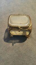 Tres belle petite boite à bijoux napoleon iii verre biseauté