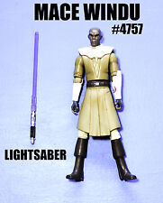 Star Wars The Clone Wars Jedi Master Mace Windu Action Figure!