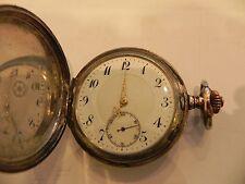 Savonette Silber 800 Taschenuhr pocket watch