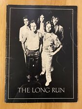 The Eagles 1980 The Long Run Tour Concert Program Book / Booklet