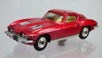 Vintage 1963 Chevrolet Corvette Stingray Corgi Sting Ray 310 Collectible Toy Car