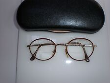e6505d08850 VINTAGE BYBLOS EYE GLASS FRAMES HARRY POTTER LOOK UNISEX MADE IN ITALY