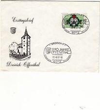 Briefmarken aus Berlin (1980-1990) mit Ersttagsbrief-Erhaltungszustand