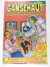 GÄNSEHAUT Comics zum Gruseln Heft # 1 ( Condor Verlag 1981 )