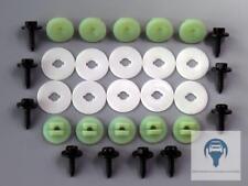 Unterfahrschutz Getriebeschutz Einbausatz Unterboden Repair Kit Clips für Ford