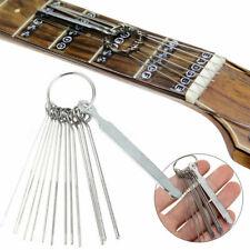 Us Professional Guitar Nut Slotting File Kit Saw Rods Slot Filing Luthier Tools