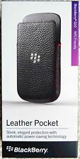 Genuine Original Blackberry Q10 Hand Crafted Leather Pocket Case Cover Pouch