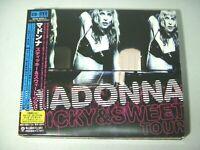 Madonna Sticky & Sweet Tour Digipack CD+DVD Japan WPZR-30363