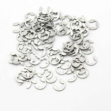 10PCS 304 Stainless steel E-Clip / Snap Ring / Circlip Φ1.2mm to Φ20mm HSP HPI