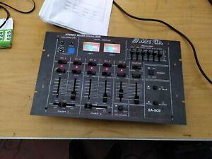 Maplin SA-909 5 channel mixer 8 inputs DJ Mixer (622)