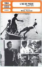 L'AS DE PIQUE - Milos Forman (Fiche Cinéma) 1964 - Cerny Petr/Black Peter